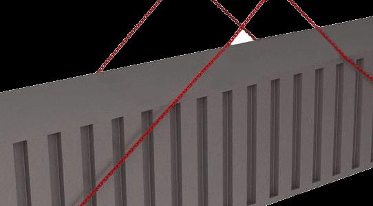 Комплект грузозахватных приспособлений для контейнеров