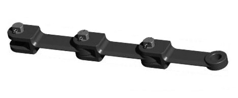 Тяговые вильчатые цепи с фиксацией штифтом-шпонкой ГОСТ 12996-90 (Р3)