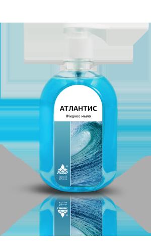 Жидкое мыло «Атлантис» с антисептическим эффектом